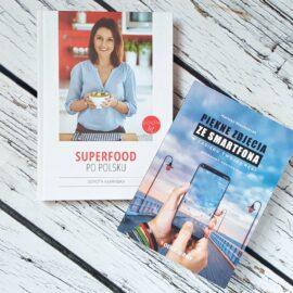 Oderwany Superfood - zestaw dwóch książek: Superfood po polsku i Piękne zdjęcia ze smartfona w zasięgu Twojej ręki