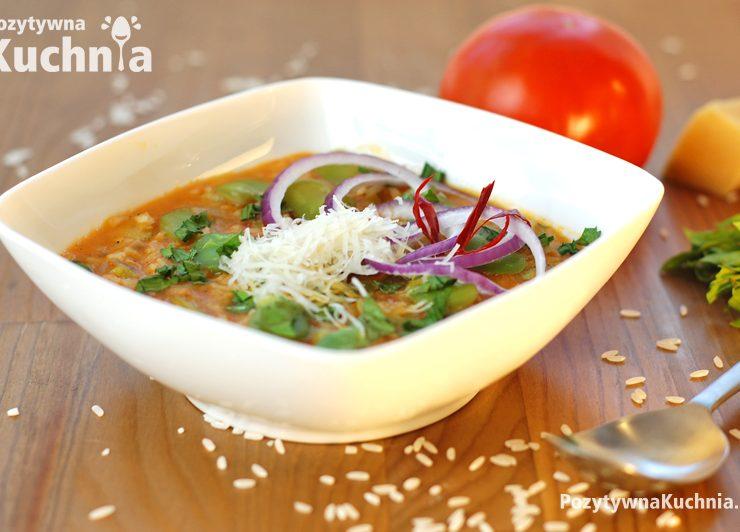 Zupa z bobu