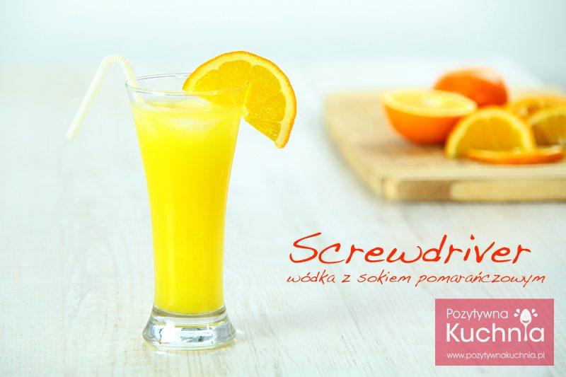 Screwdriver – wódka z sokiem pomarańczowym