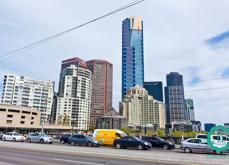 Eureka Tower - w 2012 roku najwyższy budynek w Melbourne