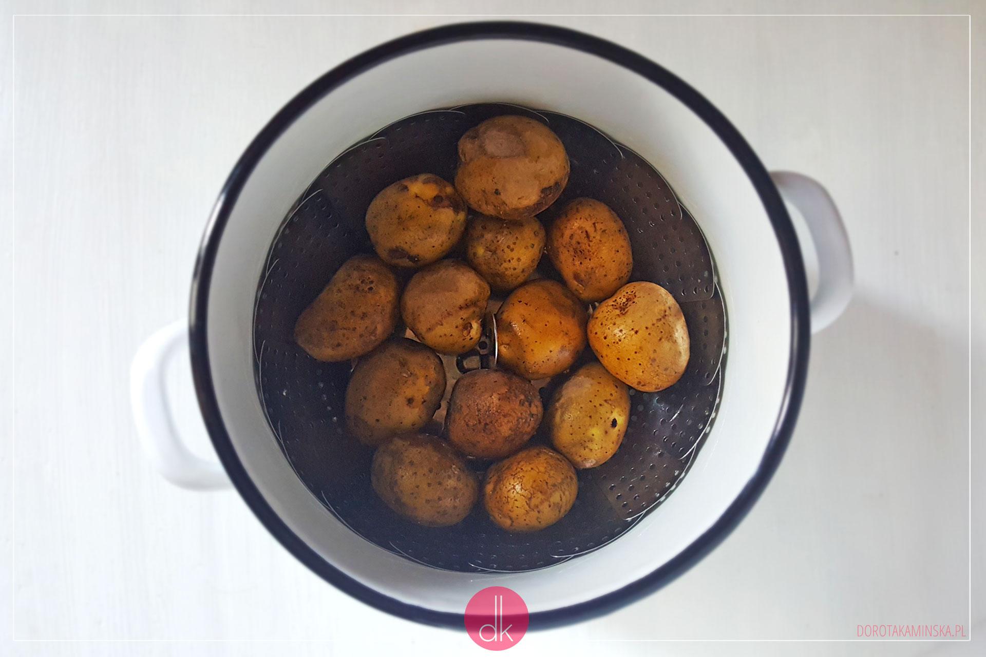 Jak ugotować ziemniaki na parze