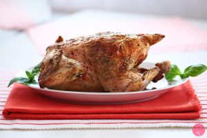 Pieczony kurczak cytrynowy