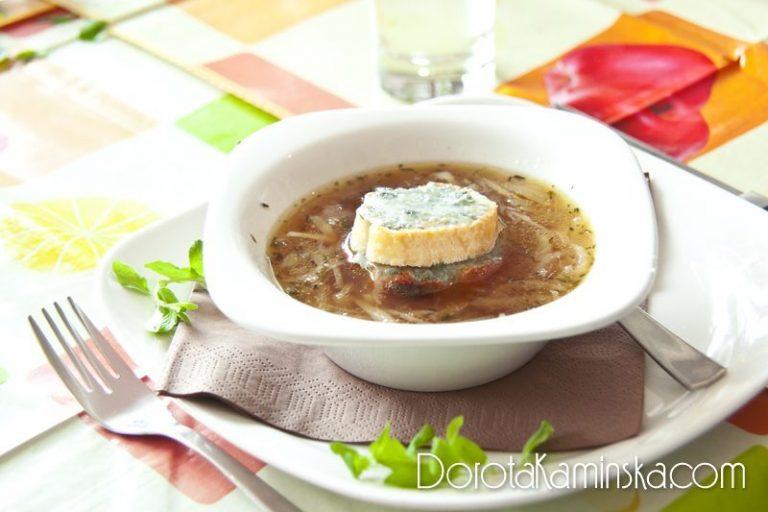 Zupa Cebulowa Przepis Dorota Kamińska