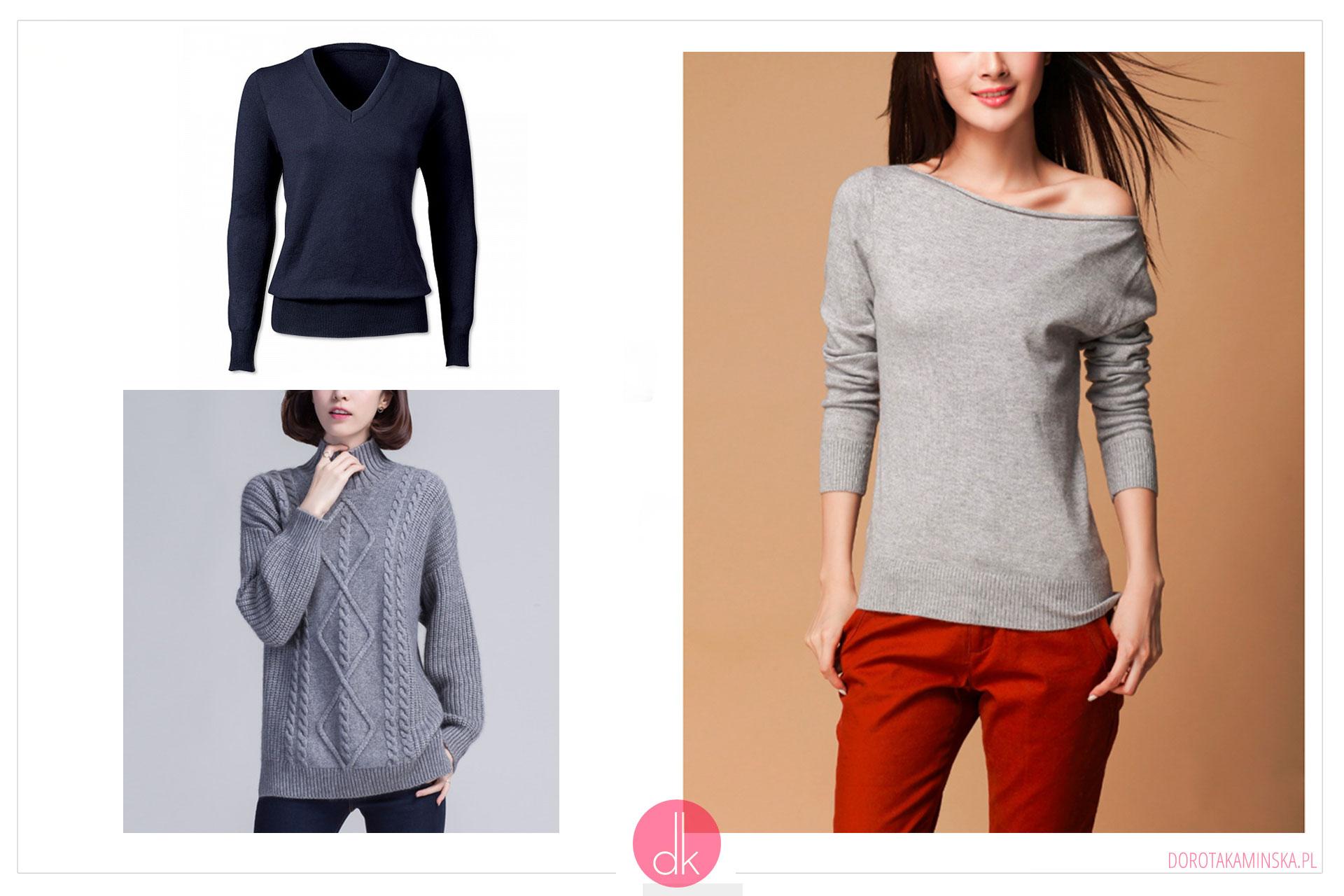 Swetry na zimę - garderoba kapsułowaSwetry na zimę 2017 - garderoba kapsułowa