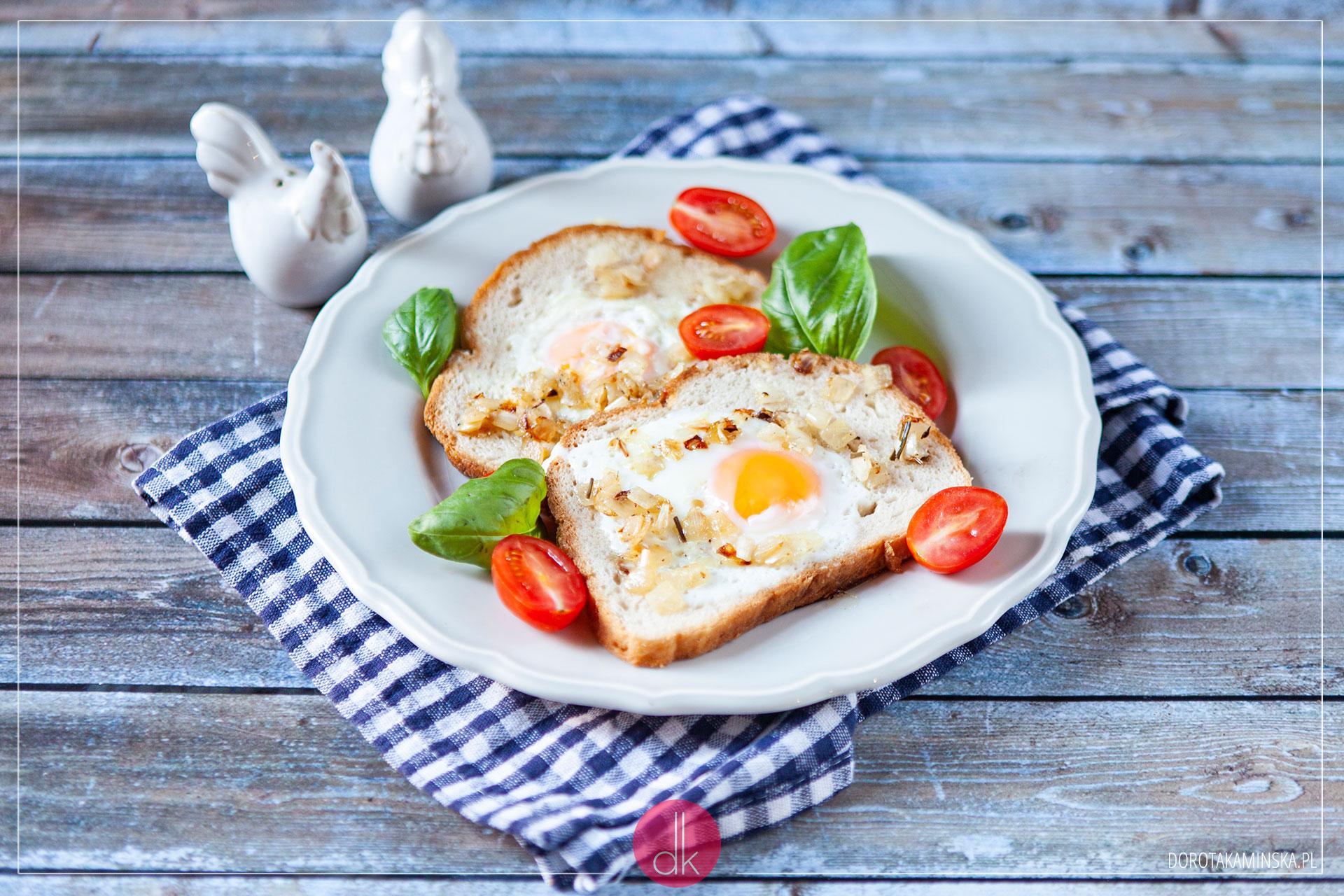Tosty z jajkiem